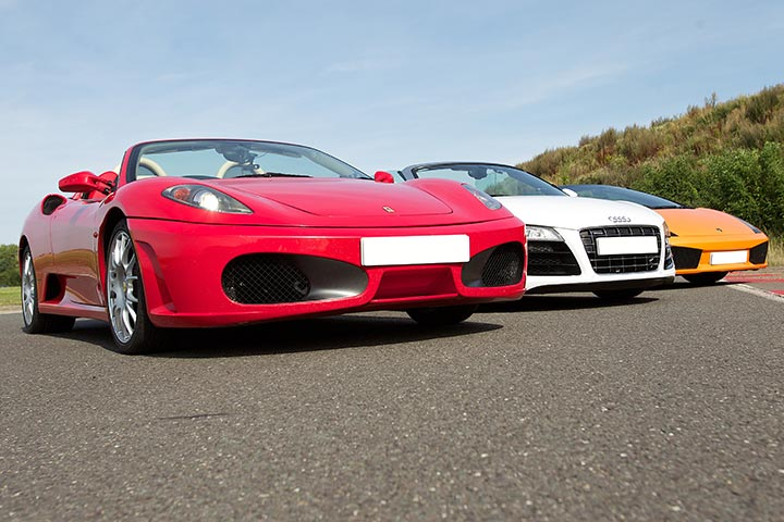 Supercar Driving Experience at Rockingham Motor Racing, Northamptonshire