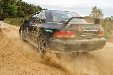 Half Day Rally Experience at Silverstone Rally School Thumb