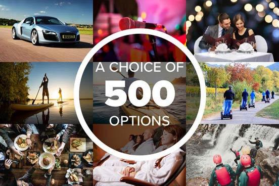 Mega Choice for Fun - Gift Experience Voucher