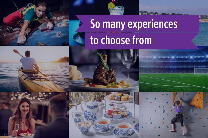 Mega Choice for Two - Gift Experience Voucher