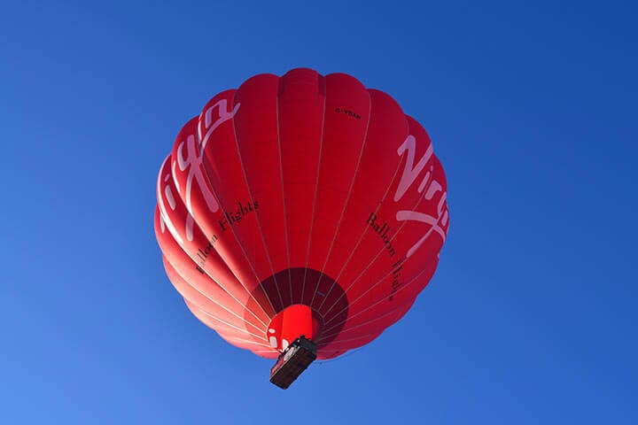 Sunrise Champagne Balloon Flight For Two