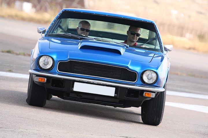 Classic Aston Martin Vantage Thrill