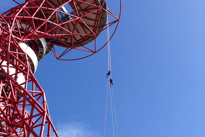 Abseil the Orbit – Wire and Sky
