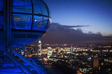 London Overnight Stay & Attraction for Two Thumb