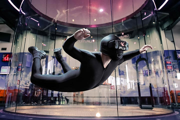 Indoor VR Skydive for One with iFly