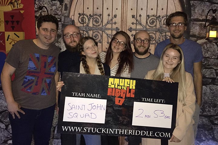 Escape the Room for Four
