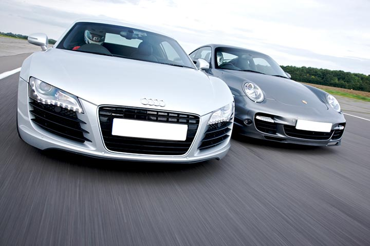 Double Supercar Driving Experience at Prestwold Centre, Leicestershire