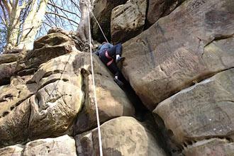Outdoor rock Climbing Experience