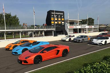 Supercar Thrill at Goodwood