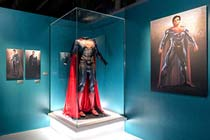 Dawn of Super Heroes Exhibition and a Three Course Meal for Two - Peak Time