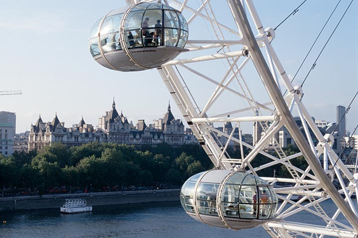 London Eye and Lunch at Wildwood for Two