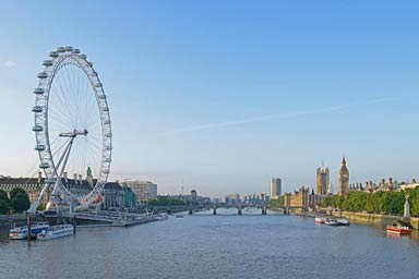 London Eye and Lunch at Wildwood for Two Thumb