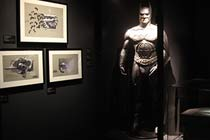 Dawn of Super Heroes Exhibition and a Three Course Meal for Two - Off Peak