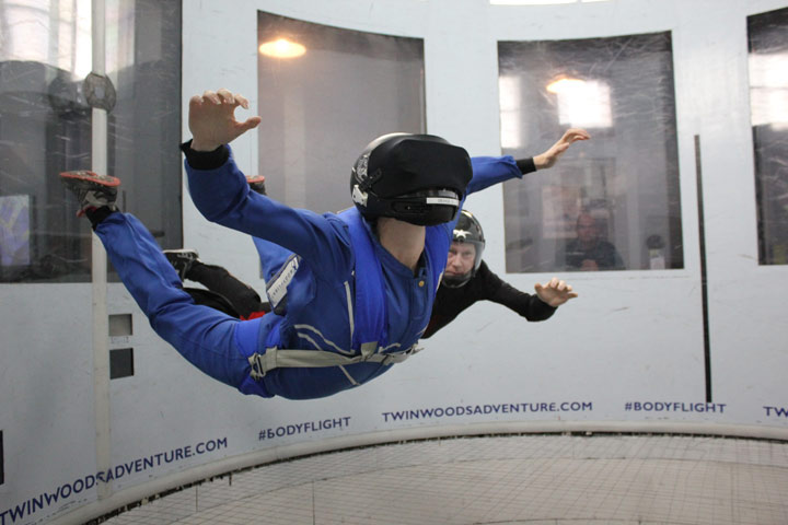 VR 4D Indoor Skydive
