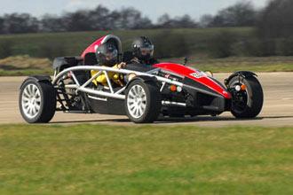 Ariel Atom Thrill and High Speed Passenger Ride