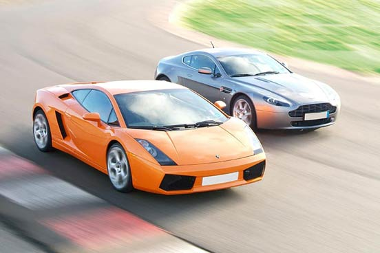 Supercar Driving & Passenger Ride at Prestwold, Leicestershire