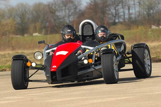 Ariel Atom Driving Experience at Blyton Park, Midlands, Lincolnshire