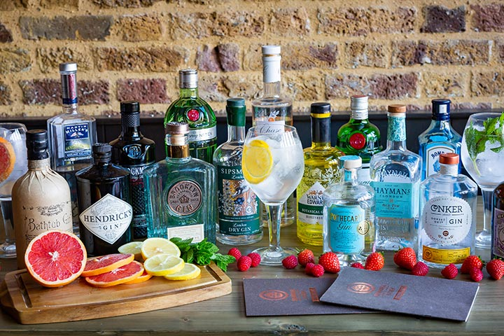 Gin Tasting Masterclass for Two at Brewhouse and Kitchen