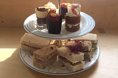 Afternoon Tea with Bubbly for Two at Milk & Sugar