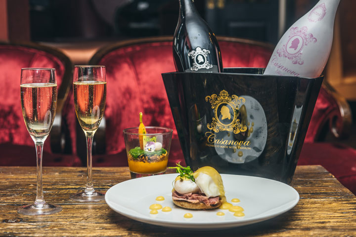 Bottomless Brunch & Unlimited Prosecco for 2 at Sanctum Soho Hotel