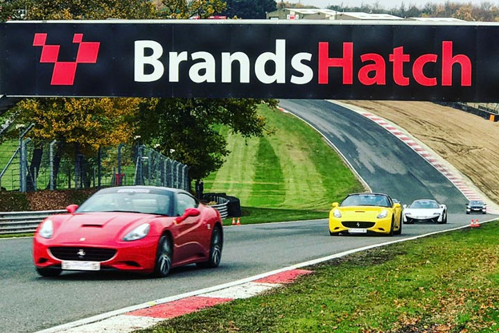 Supercar Driving Experience at Brands Hatch, Fawkham, Kent