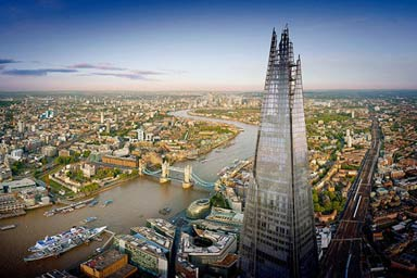 The View from The Shard with Champagne for Two Thumb