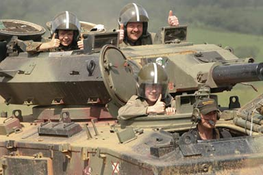 Dads & Lads Tank Experience