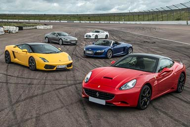Supercar Thrill at Scotland's National Motorsport Centre