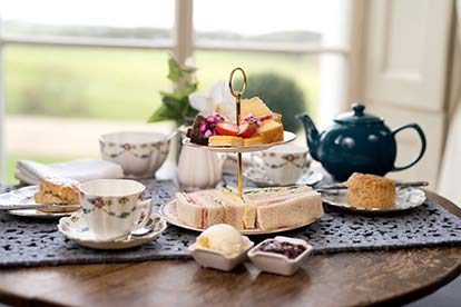Afternoon Tea for Two with Bubbly at Brooks Country House