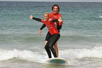 Surfing Taster Experience for Two Thumb