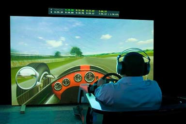 F1 Grand Prix Simulator Experience for Two Thumb