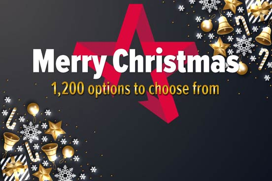 Merry Christmas - Gift Experience Voucher
