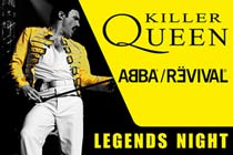 Two VIP Tickets to Killer Queen and Abba Revival Night