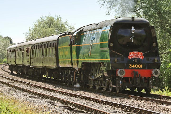 Steam Train and Afternoon Tea for Two at Nene Valley Railway