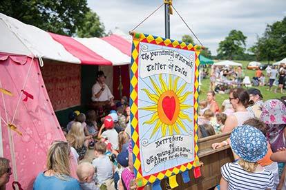 Folk by the Oak Festival Tickets for Two