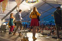 Folk by the Oak Festival Tickets for Two