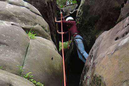 Outdoor Rock Climbing Adventure