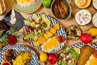 Three Course Persian Cuisine Dinner and Prosecco for Two at Banu