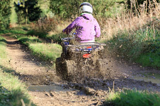 One Hour Quad Bike Safari - Weekdays Only