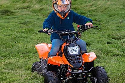 Junior Quad Bike Safari