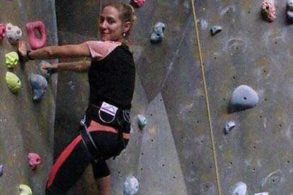 Indoor Rock Climbing Adventure