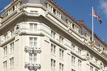 Three Course Meal and Glass of Wine for Two at The Strand Palace Hotel