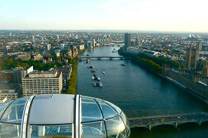 Thames RIB Boat Trip and a Ride on the London Eye for Two