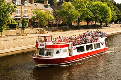 York Sightseeing Cruise for Two