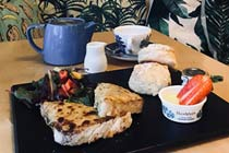 Not Your Usual Cream Tea for Two at The Courtyard Café