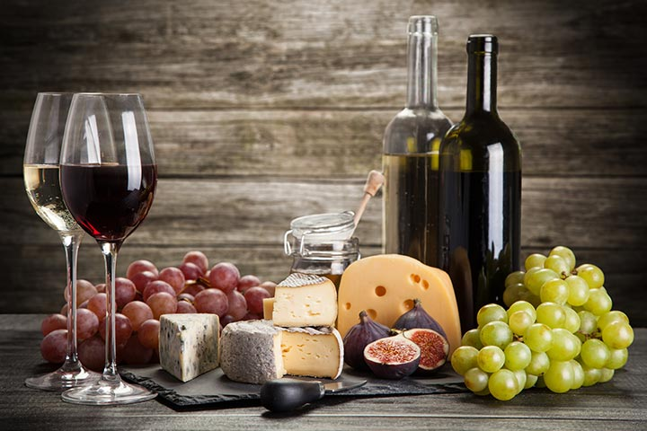 Wine and Cheese Tasting for Two