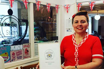 Vintage Tea For Two At The Cup & Saucer Vintage Tea Room