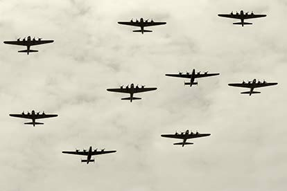 WW2 Bomber Command Flying Mission