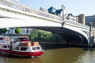 York Lunch Cruise for Two with City Cruises