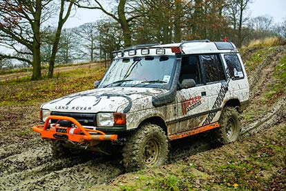 Monster Truck and 4x4 Off Road Family Ride for Four
